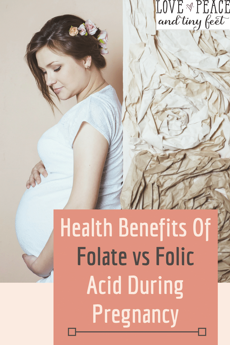 Why should pregnant women decide between folate vs folic acid? Folate and folic acid support the fetus's growth and development in utero. In particular, the two are important in preventing neural defects. If you have to make a choice between folate and folic acid, read this first!