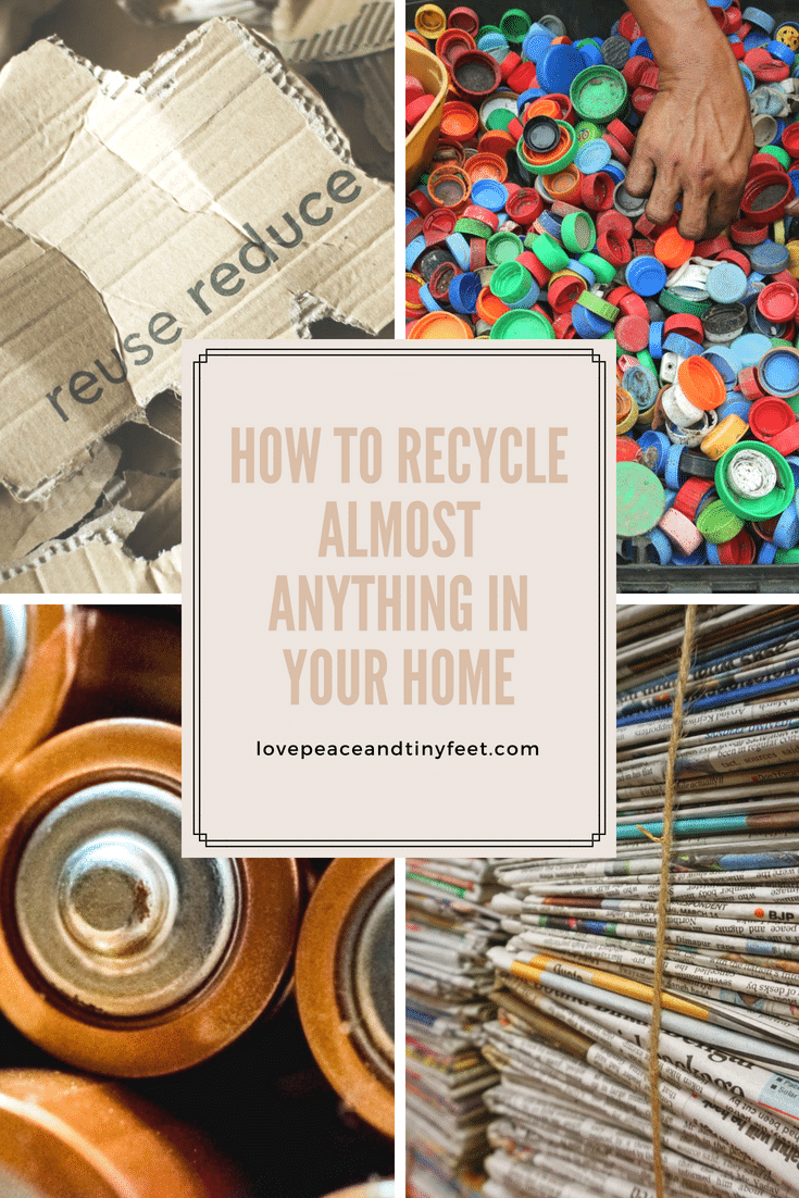 A lot of materials can get recycled, such as glass, paper, metal, and plastics. Other articles such as electronic equipment, furniture, vehicles and building materials can also get recycled, but most people often don't think to do so.Here's a quick guide on how to recycle those many things we find around our home