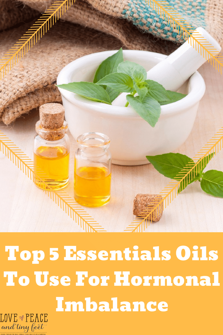 Top 5 Essentials Oils To Use For Hormonal Imbalance: The benefits of using essential oils for hormone balance are plentiful and really helpful for those who suffer from the many effects of hormonal imbalance related to menstrual problems and PMS.