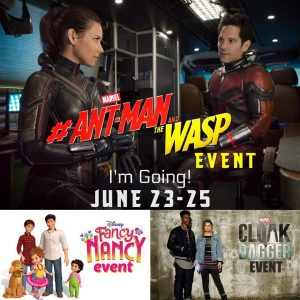 My Upcoming Ant-Man and The Wasp Cast Interviews & more at the #AntManandTheWaspEvent