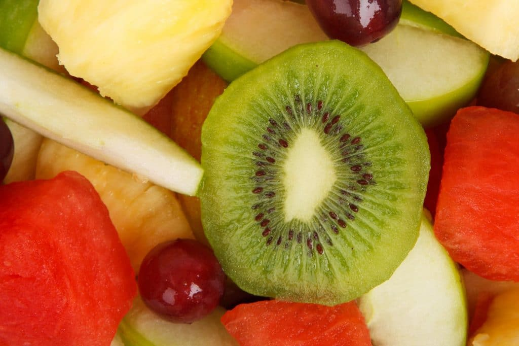 ripeness of seasonal fruits