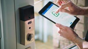 Pulte smart home safety smart lock
