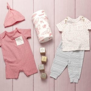 ethical clothing brand for babies - oliver and rain