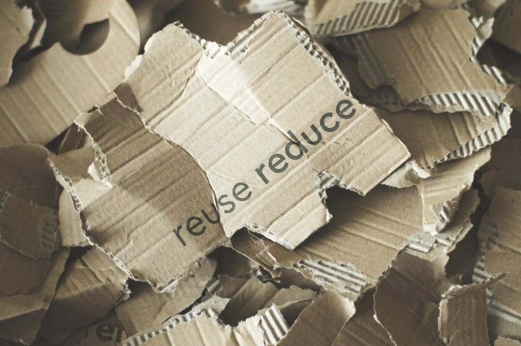 how to recycle cardboard