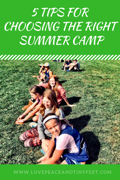 5 Tips for Choosing the Right Summer Camp