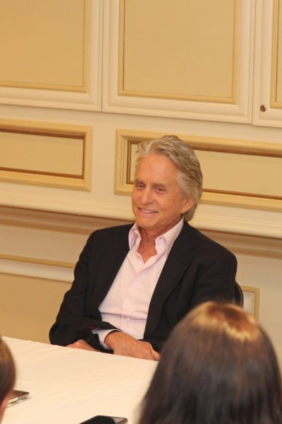 Conversation w/ Michael Douglas on Suiting up in Ant-Man and the Wasp and his legendary career #Antmanandthewaspevent