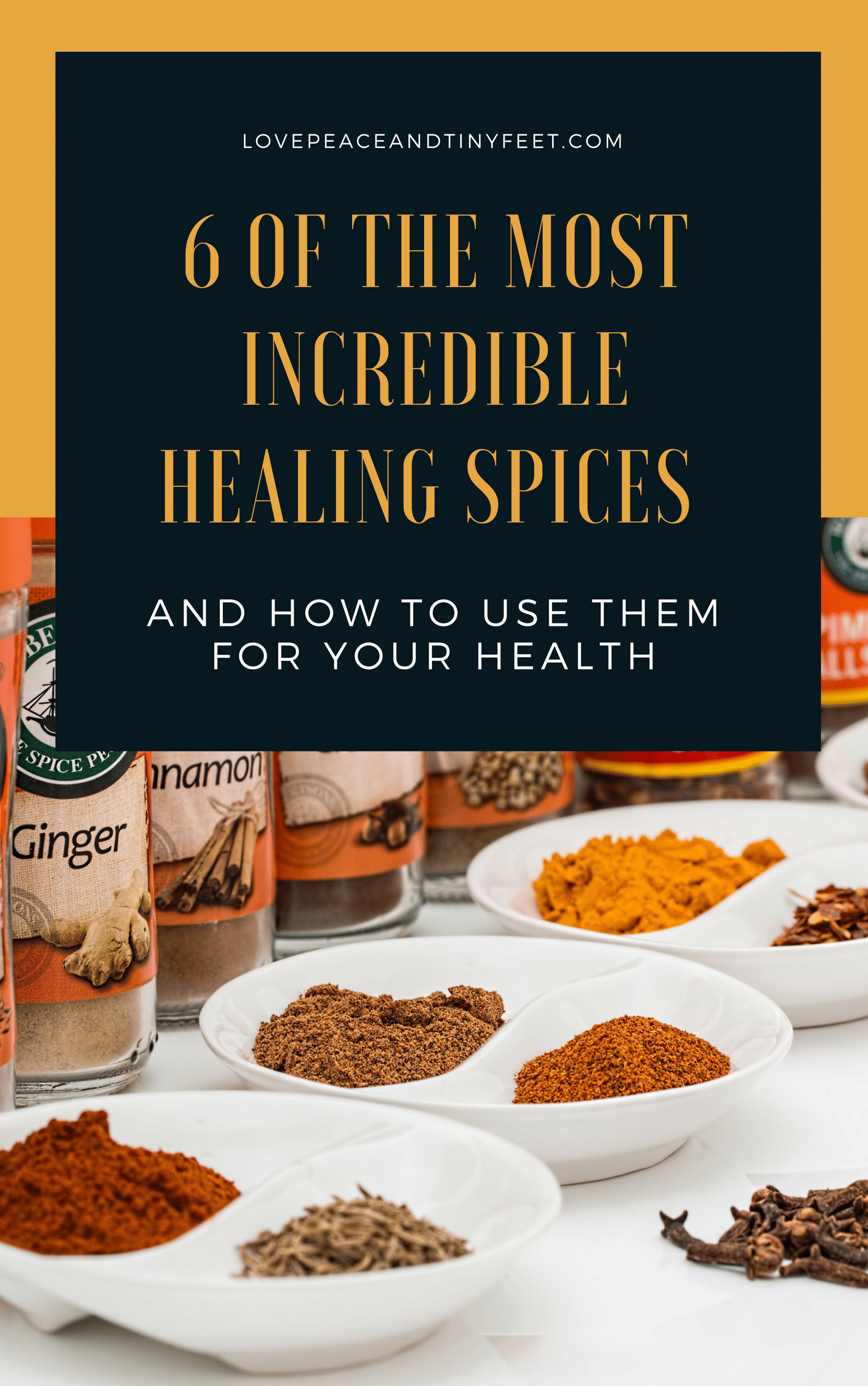 spices continue to be widely used within alternative medicine and homemade remedies and concoctions. Here are six of the most incredible healing spices and how to use them to improve your health