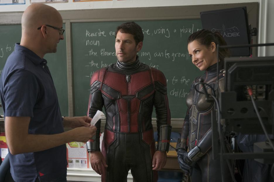 Ant-man and the wasp easter eggs - interview with director Peyton Reed