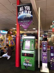 Chuck E. Cheese's is introducing All You Can Play in their restaurants where kids can play unlimited games for the amount of time purchased.