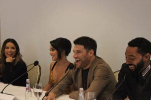 adam pally dog days press conference