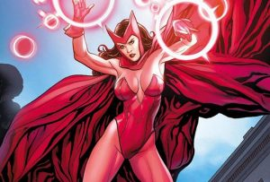 female marvel superheroes - scarlett witch