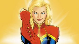 female superhero captain marvel