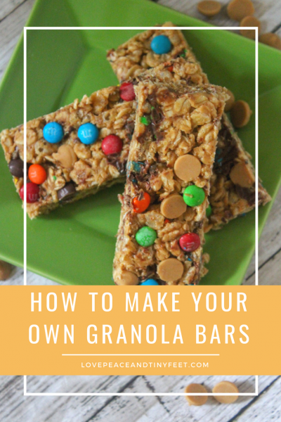 How to make your own Homemade Granola Bars | Recipe
