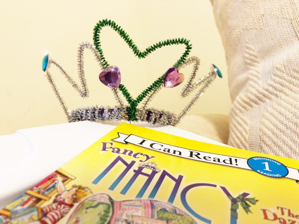 fancy nancy tiara
