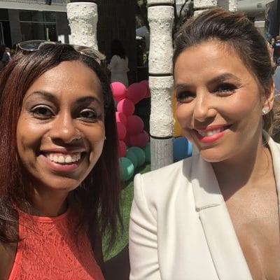 "My Fangirl Moment with ""Friend in My Head"" Eva Longoria at the Premiere of Dog Days"