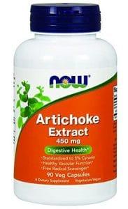 now foods artichoke extract supplement