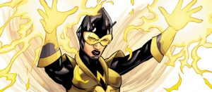 female marvel superheroes The Wasp