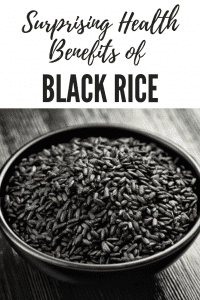 "Surprising Health Benefits of Black Rice – Also known as ""Forbidden Rice."""