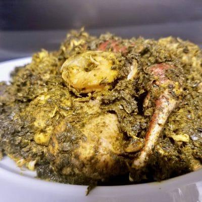 authentic liberian cassava leaves - cassava leaf recipe