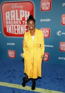"HOLLYWOOD, CA - NOVEMBER 05: Adina Porter attends the World Premiere of Disney's ""RALPH BREAKS THE INTERNET"" at the El Capitan Theatre on November 5, 2018 in Hollywood, California. (Photo by Jesse Grant/Getty Images for Disney) *** Local Caption ***"