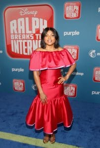 """HOLLYWOOD, CA - NOVEMBER 05: Actor Taraji P. Henson attends the World Premiere of Disney's """"RALPH BREAKS THE INTERNET"""" at the El Capitan Theatre on November 5, 2018 in Hollywood, California. (Photo by Jesse Grant/Getty Images for Disney) *** Local Caption ***"""