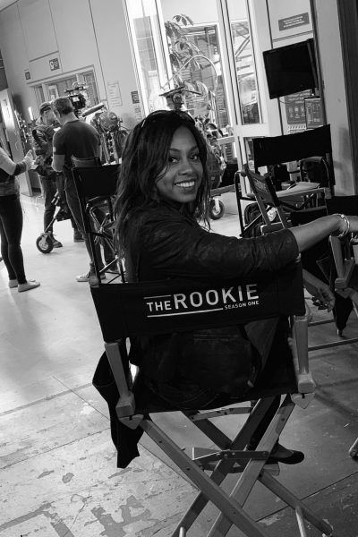 On location with the cast of ABC's The Rookie