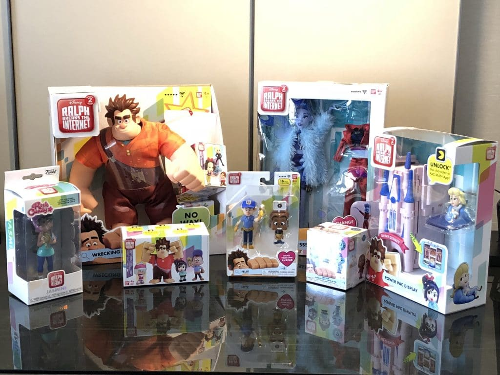 toys from the wreck it ralph movie ralph breaks the internet