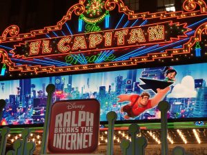 el capitan theater premiere of Ralph Breaks the internet
