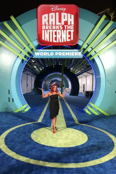 Behind the scenes at the World Premiere of Ralph Breaks The Internet