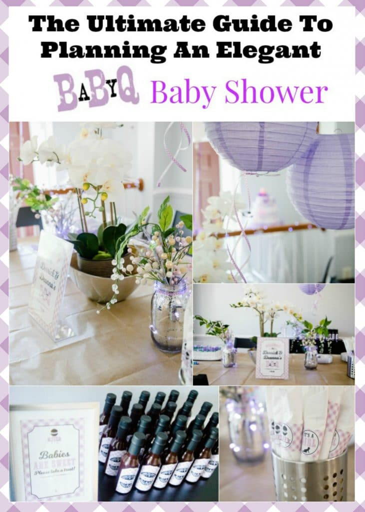 The ultimate guide to planning a Baby-Q baby shower - unique ideas for a summer baby shower