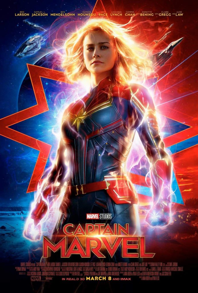 captain marvel poster printable