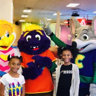Chuck E. Cheese's gets a makeover!  And it's more parent-friendly than ever!