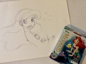Bringing Princess Ariel to Life with Disney Animator Mark Henn  #TheLittleMermaidBluray