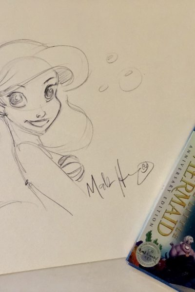 Bringing Princess Ariel to Life with Disney Animator Mark Henn  #TheLittleMermaidBluray