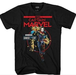 captain marvel t shirt online