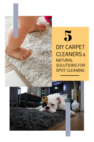 5 DIY Carpet Cleaners and Natural Solutions For Spot Cleaning
