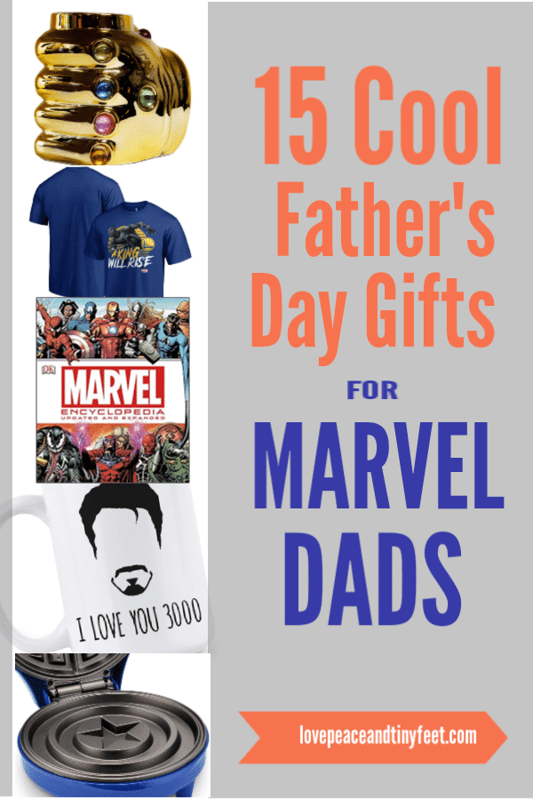 Looking for Father's Day Gift Ideas for the Marvel Fan in your life? Check out this list of fun and unique Father's Day Gifts for Marvel Dads! Includes last minute gift ideas too!