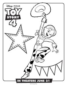 free printable toy story 4 coloring pages activity sheets  recipes