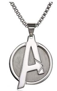avengers marvel necklace for men