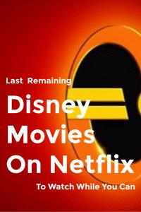 disney movies on netflix