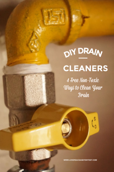 DIY Drain Cleaners | 4 Free Non-Toxic Ways to Clean Your Drain