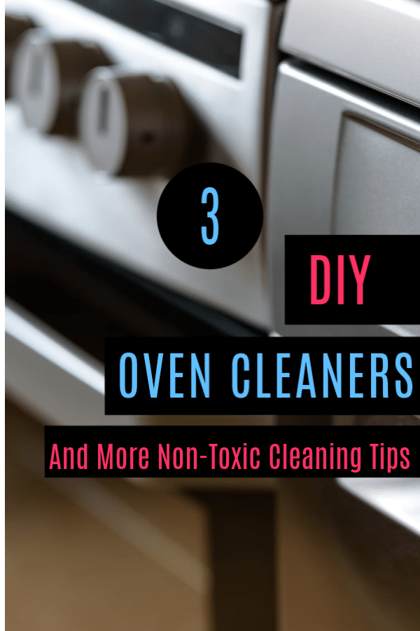 I prefer using homemade cleaning solutions wherever possible to avoid bringing any more toxins into my home. Here are some simple DIY Oven Cleaners to try.