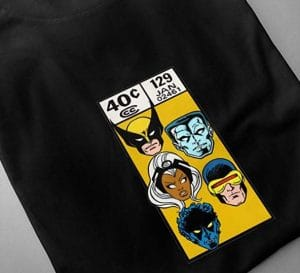 x-men t shirt: Marvel Fan Art