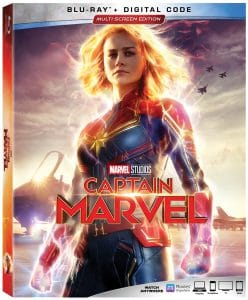 Captain Marvel on Blu-Ray: Bonus Features and Exclusives
