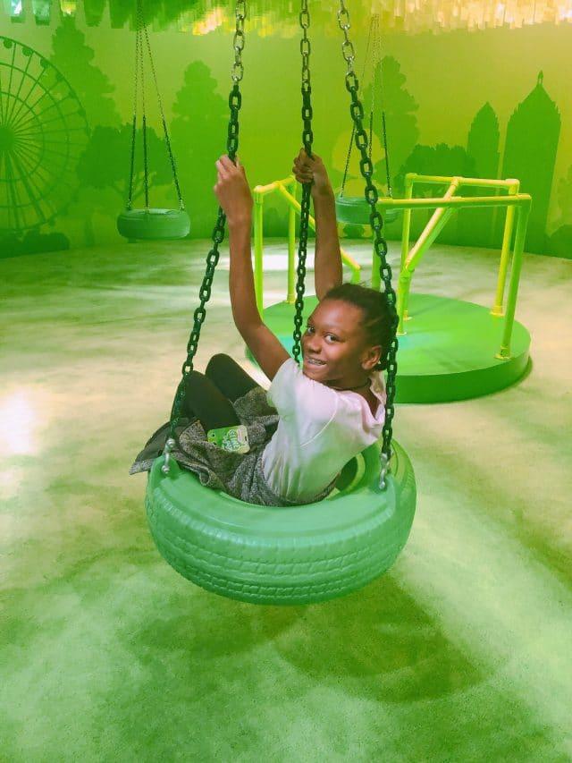 nickelodeon slime city playground