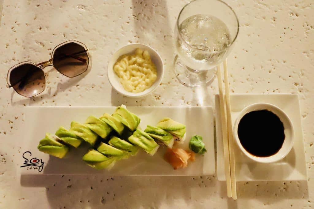 soy sushi restaurant at beaches turks and caicos