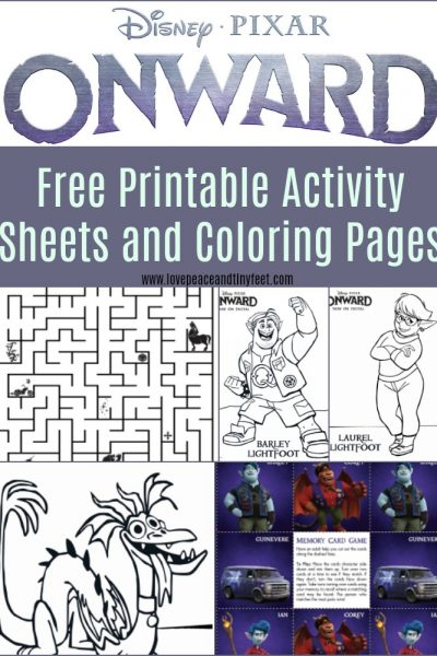 Free ONWARD Activity Sheets and Coloring Pages – Easy Download