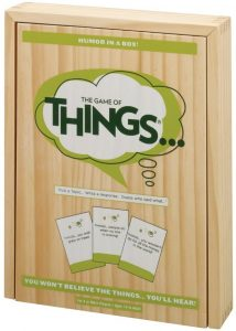 virtual party games - the game of things