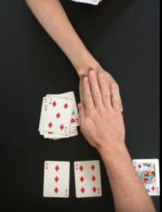 How to play the card game spit