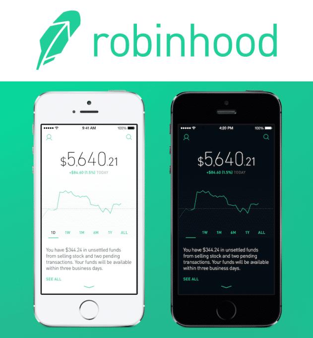 investing on robinhood